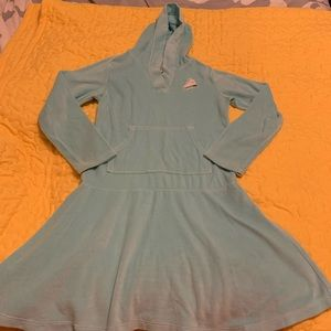 2/$15 Gymboree Girls Size 12 Dress Hood Ice skate